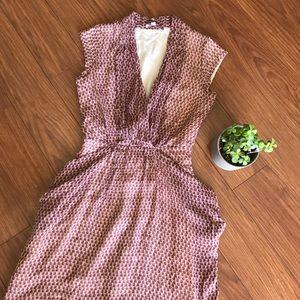 Calypso St. Barth 100% Silk Polka Dot Dress